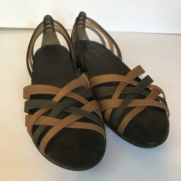 0445ad2248d6 CROCS Shoes - Crocs Open Toe Sandals Basket Weave Size 8 Med